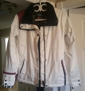 White Brand New Snowboard Jacket