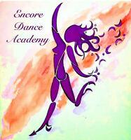 ENCORE DANCE ACADEMY Fall Classes
