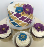 Cakes, cupcakes, Cookies and more for your next event!