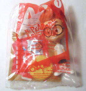MR PEABODY McDONALD'S BOBBLE HEAD IN UNOPEN PACKAGE