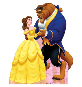 Beauty and the Beast party props
