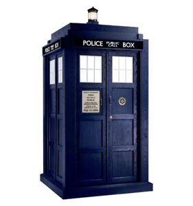 The Tardis Outhouse -- Treehugger Cabins & Bunkies