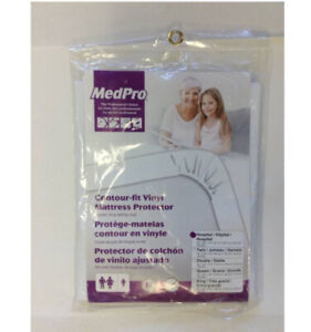 Med Pro Contour Fit Mattress Protector BRAND NEW