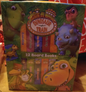 Brand New Dinosaur Train 12 Board Books Collection
