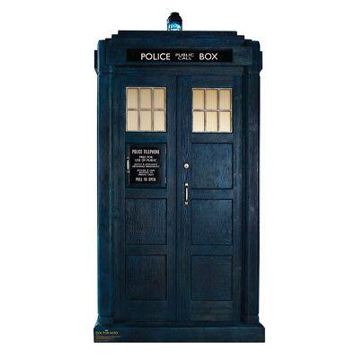 DOCTOR WHO - TARDIS - LIFE SIZE STANDUP/CUTOUT BRAND NEW - 2765