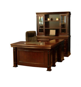 High-end Veneer Workstations/Executive Desks