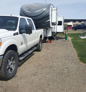 Truck and trailer combo for sale