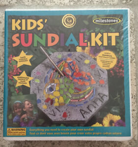 Kid's Sundial Kit, Factory sealed