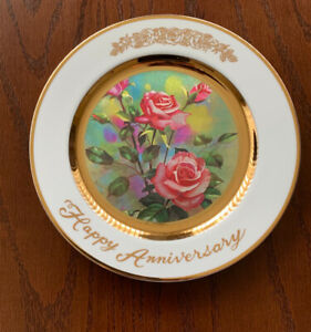 Multiple Anniversary Plates 25th /Retirement/ 40th etc....pieces