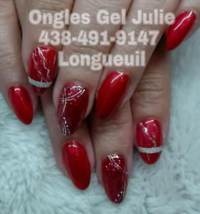 Pose d'ongles 100% Gel