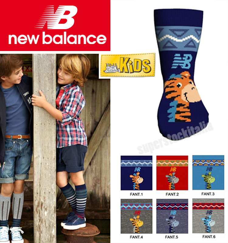Calze calzini antiscivolo bimbo New Balance casa asilo inverno bambino N301