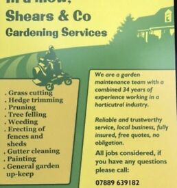 In a mow, Shears & Co - Gardening & Landscaping Services.