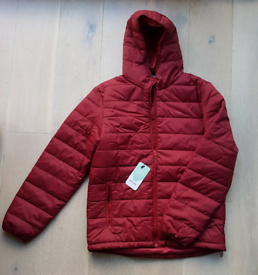 New With Tags!! Freedom Trail Men's Blisco Insulated Jacket. Med. Red