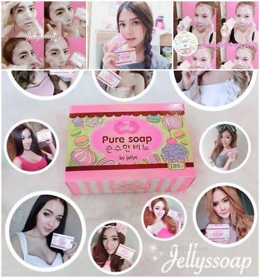 Best Pure Gluta Bar Soap Whitening Face Body Skin Aging Lightening Dark (Best Body Lightening Soap)