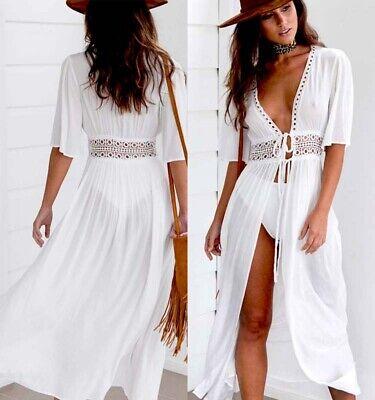 USA LADIES BEACH KAFTAN DRESS COVER UP BIKINI SWIMWEAR SARONG FASHION HOLIDAY](Dressing Up Clothes)