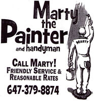 MARTYS PAINTING SERVICES 647 379 8874