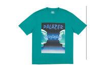 Palace skateboard palazer T-Shirt Sea Green Medium AW17 autumn