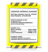 (DRO-13)  CENTRE de LIQUIDATION, LAVAL .. MANUTENTIONNAIRE :