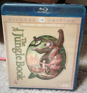 Disney The Jungle Book Blu-Ray Diamond Edition