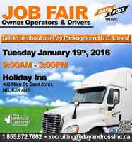 Job Fair Owner Operators and Class 1 Drivers