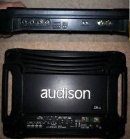 Audison SR1D: Class D, Digital Mono 640WX1 @ 1ohm amplifier