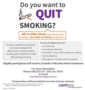 Recruiting for research: Do you want to quit smoking?