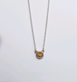 Tiffany & Co. Elsa Peretti Color By The Yard Necklace With Citrine