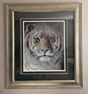 Robert Bateman - Tiger at Dusk