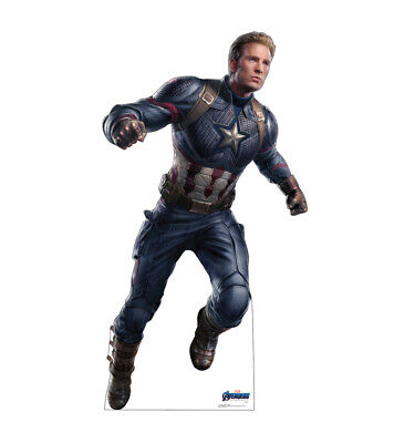 CAPTAIN AMERICA - AVENGERS ENDGAME - LIFE SIZE STANDUP/CUTOUT BRAND NEW 2953](Standup Cutouts)
