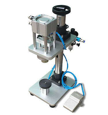 Pneumatic Perfume Bottle Capping Machine, Metal Cap Press Machine Capper for sale  Shipping to Nigeria