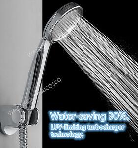 super high pressure boosting low bath shower head water saving health filter uk ebay. Black Bedroom Furniture Sets. Home Design Ideas