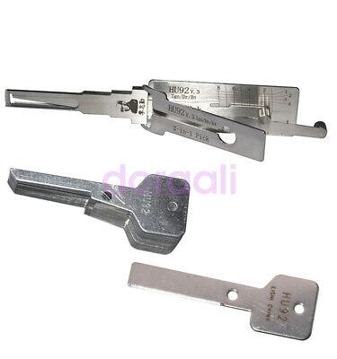 Lishi HU92 V.3 2 in 1 Auto Car Lock Decoder Lock Opener Tools for BMW
