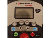 Confidence running machine