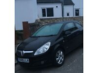 Black Vauxhall Corsa 1.4 09 plate for sale