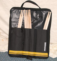PRO MARK STICK BAG AND DRUM STICKS