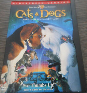DVD Cats and Dogs West Island Greater Montréal image 1