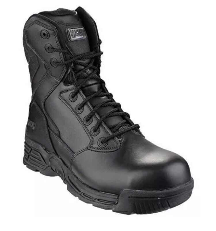 d51948e928b Magnum Stealth Force 8.0 Black Leather Safety Boots Size 11 | in Calne,  Wiltshire | Gumtree
