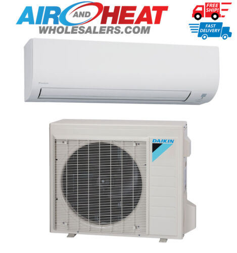 Daikin 24000 Btu Heat Pump Air Conditioner 19 Seer Single Zone Mini Split