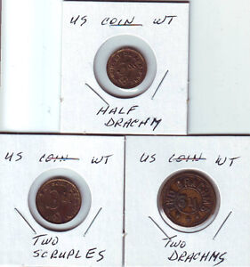 U S  Coin Weights