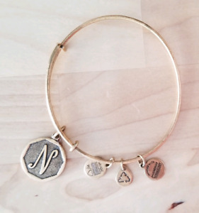 Alex and Ani gold coloured bracelet