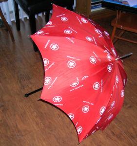 Vintage Air Canada Airline umbrellas
