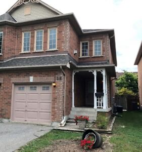Beautiful Semi Detached home at Bayview and Wellington for Rent