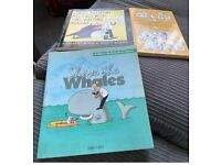 """""""Dilbert"""" books Shave the Whales & Always postpone meetings and cat names books"""