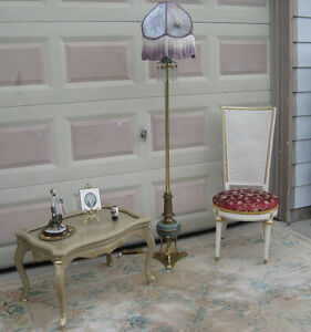 Vintage Parlor Floor Lamp (Other accents)