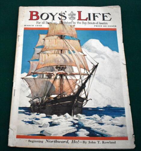 VINTAGE BOY SCOUT- 1932 BOYS