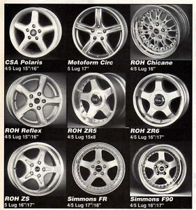 WANTED - FOX BODY MUSTANG ROH OR SIMMONS WHEELS