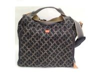 Pacapod grey Napier bag. Designer