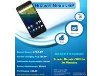 Huawei Nexus 6p,P9 Lite,P8 Lite,OnePlus One,3,OnePlus 3T Broken LCD Screen Digitiser Repairs London