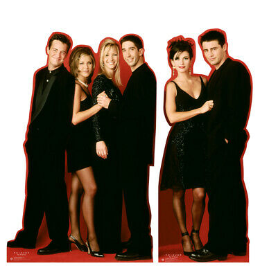 FRIENDS - TV SERIES - LIFE SIZE STANDUPS/CUTOUTS - SET OF 2 - BRAND NEW - 2888 - Life Size Stand Ups