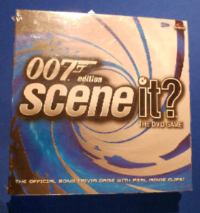 James Bond 007 Scene it? DVD Board Game Brand new Sealed